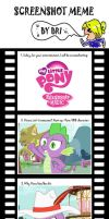 MLP:FIM ScreenshotMeme by WhiteBAG by WhiteBAG