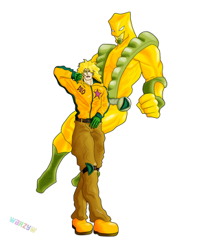 Dio Brando, The World by Warzychewka