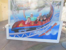 Parents and Nancy on California Screamin' by BigMac1212