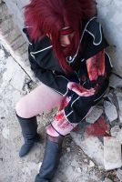 Kallen Kozuki. It hurts by SarinaAmazon