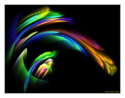 Rainbow Flowers No.4 by denise-g