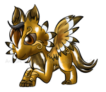 8 Point Chibi Commission Quad Jarith by Daiasita