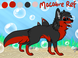 Freshwater fox: Macabre ref by xCoyote