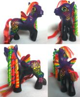 Lisa Frank peggie by seethecee