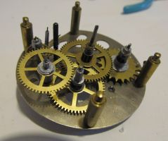 clock gears steampunk 34 by deathofsphinx