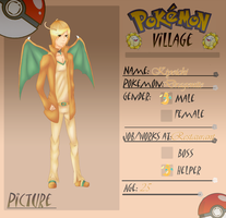 Pokemon Village Application: Kiyoichi by BrightlyShine