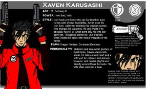 Xaven Karusashi-Spirit Chasers by Fish-with-a-Knife
