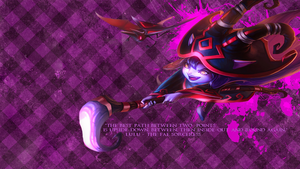 The Wicked Laughter Of Lulu!(wallpaper) by KiddlesTheCat