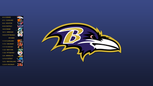 Baltimore Ravens 2013 Schedule Wallpaper by SevenwithaT