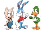 Buster, Plucky, and Hampton by ViralJP