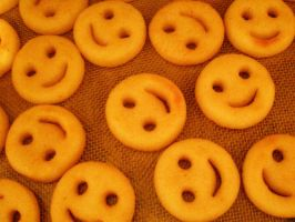 Smiling Fries by allisonsayshello