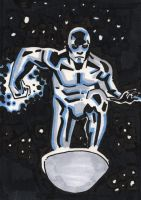 Silver Surfer by keirle