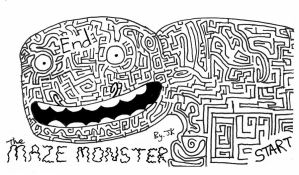 The Maze Monster by JAKtheTerrible