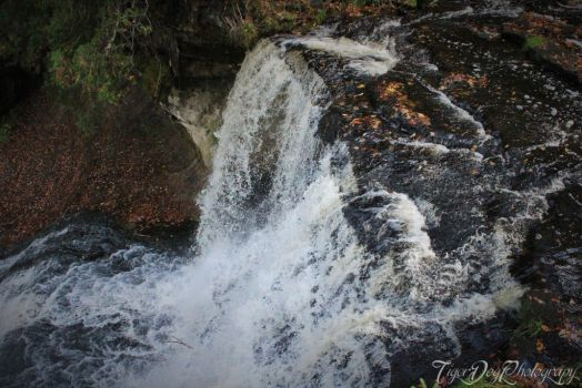 Laughing Whitefish Falls by TigerDogPhotography