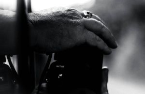 Black And White Camera Hand by Samuel-Benjamin