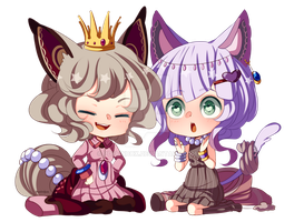 You are the queen kitty by poffinbox