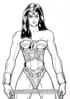 Another Wonder Woman by r-i-p-p-l-e