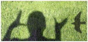 LOVE on grass by flohannes