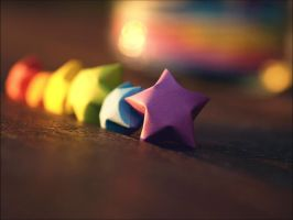 rainbowstars. by Camiloo