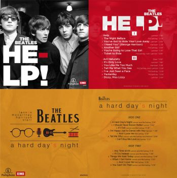 The Beatles Record Albums by ilkerozcan