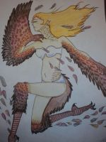 Day 1: Harpy by Snoko