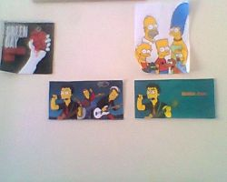 My little sanctuary to Green Day and to Simpsons by Haruhiy