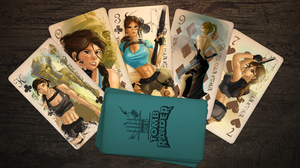 Valley of Kings - Tomb Raider Classic Card Deck by jwebster45206