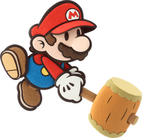 SSB4 Character Speculation- Paper Mario by rocktaunt63