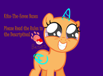 Mlp Fim - Filly SQUEE! base by Kiko-The-Eevee