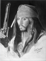 Jack Sparrow by caneker
