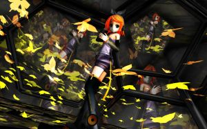 MMD Rin Append by xhandua