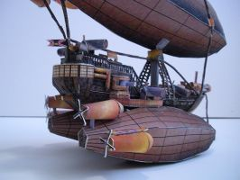 Papercraft Airship L.Z. 500 3 by divinewindnsew