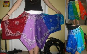 Hanky Skirt by nightmary