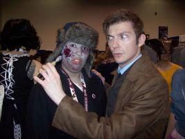 The Doctor and the Undead. by fridayscomiconline