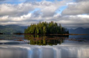 Island Reflection by bens1n