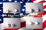 America Mochi Earrings by xXShadow-BlizzardXx