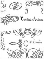 Twisted Arden Brushes by draconis393