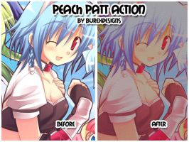 Peachpatt Action by burexdesigns