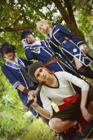 K Project - Scepter4 and Misaki Yata by AmethystPrince