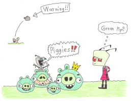 Green Pigs by Mr-Illusionist-1331