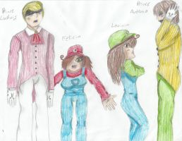Mario Meets Hetalia- Germany, Italy, Romano, Spain by LoveKittenRawr