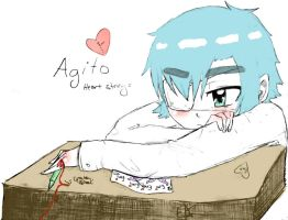 Heart Stings: Agito by EmiAnimeOriginal