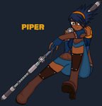 Storm Hawks:. .:PIPER:. by EMnEM23