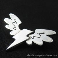 Silver Wonderbolts pin by Sulislaw