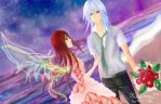Gift: Riku and Her by yashima