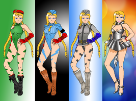 Cammy Costume by simpleguyfa