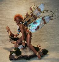 ooak african fairy kiara 2 by fairiesndreams