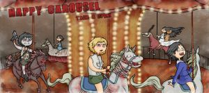Happy Carousel by CopperKidd