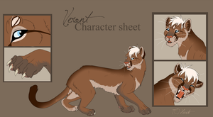 Veront character sheet - commission by hecatehell