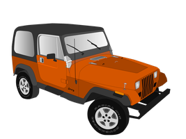 1993 Jeep YJ by Eccks